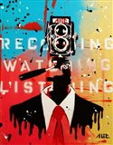 NSA Camera Man Art Print