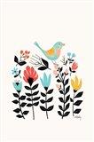 Folk Art Garden Art Print