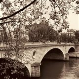 Pont Louis-Philippe, Paris Art Print