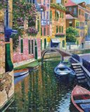 Romantic Canal Art Print