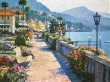Bellagio Promenade Art Print