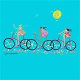 Tour de Girls Art Print