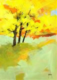 Autumn Trio Art Print