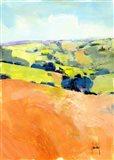 Downland One Art Print