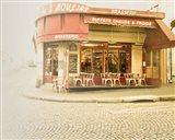 Paris Brasserie Art Print