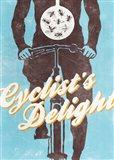 Cyclist's Delight Art Print