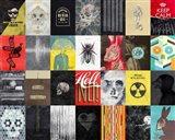 Death Skulls Art Print
