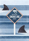 Official Snorkeling Area Art Print