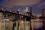 Brooklyn Bridge at Dawn Art Print