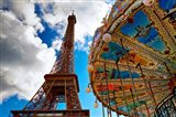 La Tour et Le Carrousel Art Print