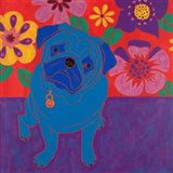 Perspicacious Pug Art Print