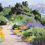 Path through the Poppies Art Print