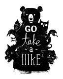 Go Take a Hike Art Print