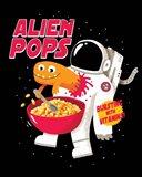 Alien Pops Art Print