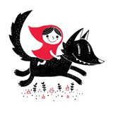 Red Riding Art Print