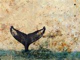 Hawaiian Whale Fluke 1.0 Art Print