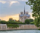 Notre Dame - View from the Seine Art Print