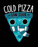 Cold Pizza Fan Club Art Print