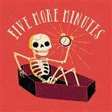 Five More Minutes Art Print