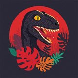 Tropic Raptor Art Print