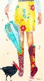 Rainy Day Companions Art Print