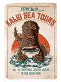 Kaiju Sea Tours Art Print