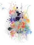 Lavender Wildflower Explosion Art Print