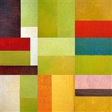 Color Study Abstract 1 Art Print