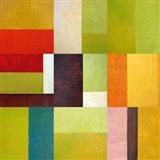 Color Study Abstract 2 Art Print