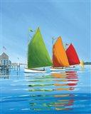 Cape Cod Sail Art Print