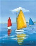 Newport Regatta Art Print