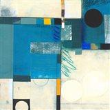 Calypso Blue I Art Print