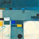 Calypso Blue III Art Print