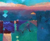 Meknes Green Art Print