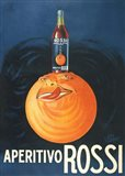 Aperitivo Rossi Art Print