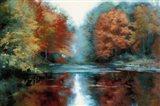 Saco River Art Print