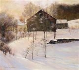 Winter Peace Art Print