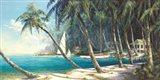 Bali Cove Art Print