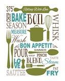 Culinary Love 1 (color) Art Print