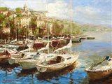 Harbor Bay Art Print