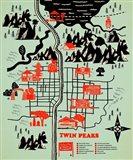 Welcome to Twinpeaks Art Print