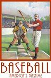 Baseball America Art Print