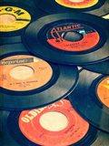 Old Records Art Print