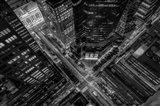 New York City Looking Down Art Print