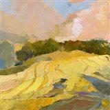 Overcast Farm Day Art Print