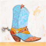 Boy Boot Art Print