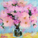 Bright Pink Peony Art Print