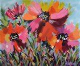 Red Poppy Field Art Print