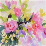 Wild Rose Garden Art Print