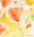 Windblown Poppies #3 Art Print